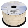 Faux Suede Lacing 50m Ivory
